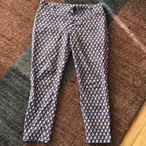 Cartonnier charlie ankle pants geometric 8